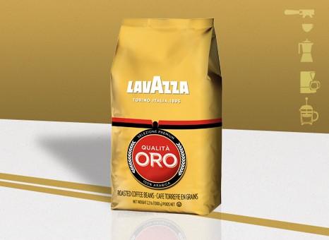 Lavazza Qualita Oro szemes kávé 1 kg