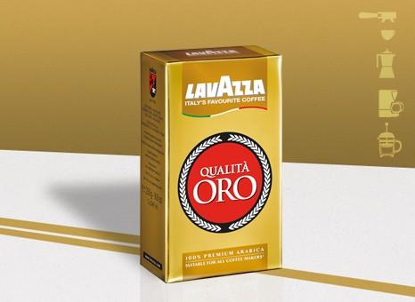 Lavazza Qualità Oro őrölt kávé 250 g