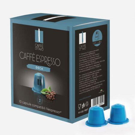 Decaffeinated Nespresso kompatibilis kávé kapszula NESPRESSO kávéfőzőhöz