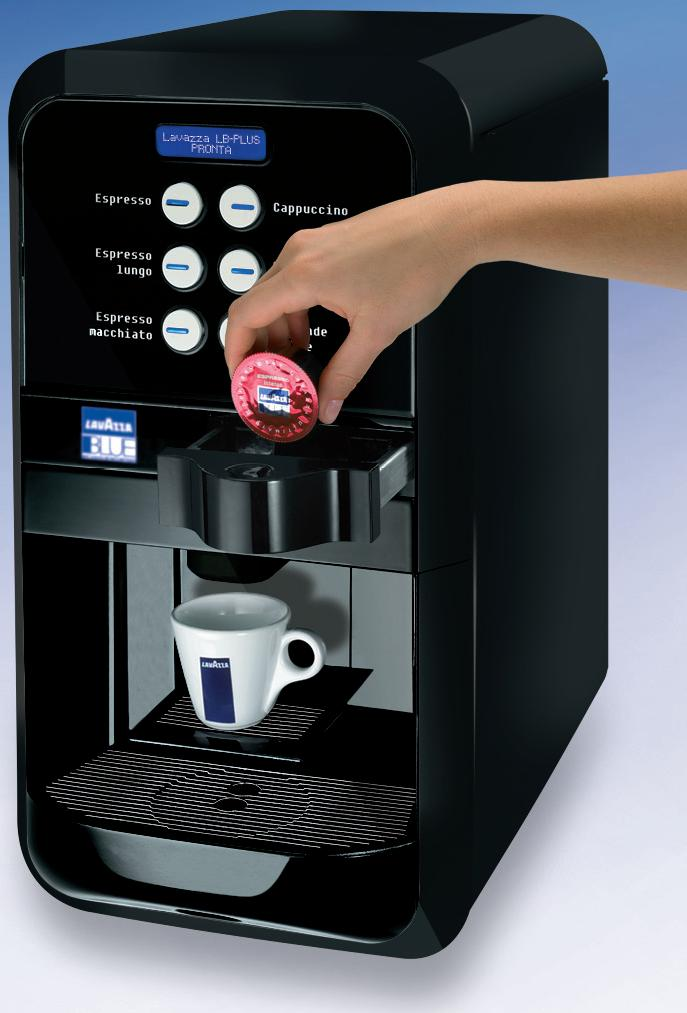 Lavazza LB 2500 Plus kávéautomata